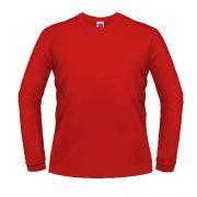 Camisas Promocionais Atacado | Manga Longa Vermelho