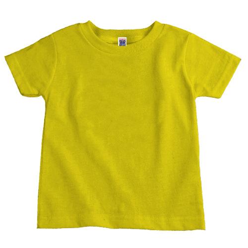 Camiseta Infantil Promocional | Amarelo