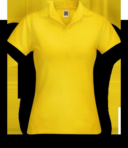 Fábrica de Camisetas | Camisa Polo Amarela