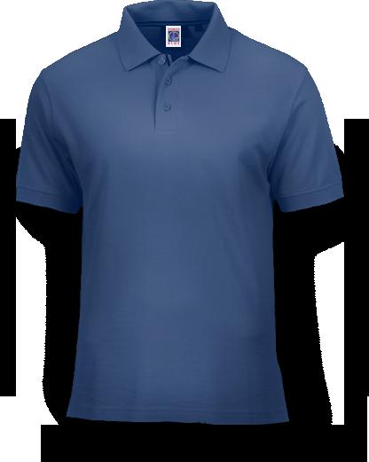 Fábrica de Camisetas | Camisa Polo Azul