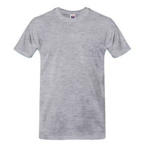 Camisetas Promocionais Atacado | Cinza Mescla